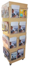 450050 - Brochure display stand