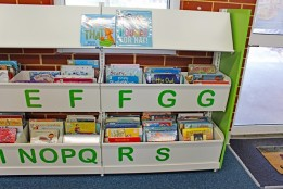 Library shelving 14