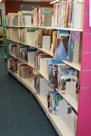 Library shelving 7