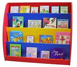 Single sided book display multi sml