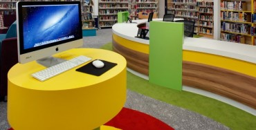 Library furniture classroom furniture
