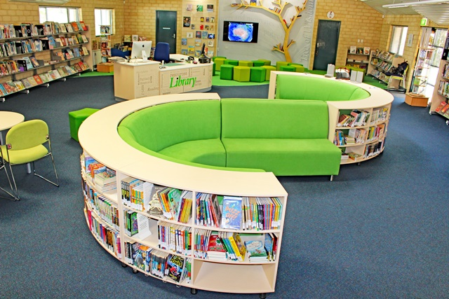 We would like to thank the lovely staff at Ranford Primary School  This  library turned out amazingly we are very proud of this project. Ranford Primary School   Library Furniture   DVA Fabrications