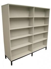 220003 Melamine library shelving