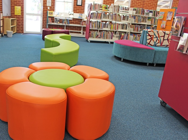 Palmyra Primary School Library Furniture Dva Fabrications