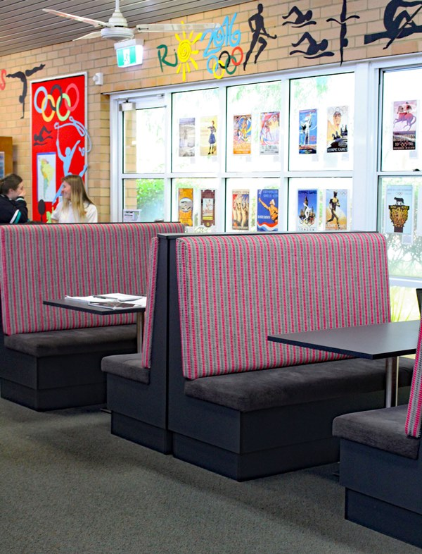 Collaborative Classroom Seating ~ Booth seating dva fabrications