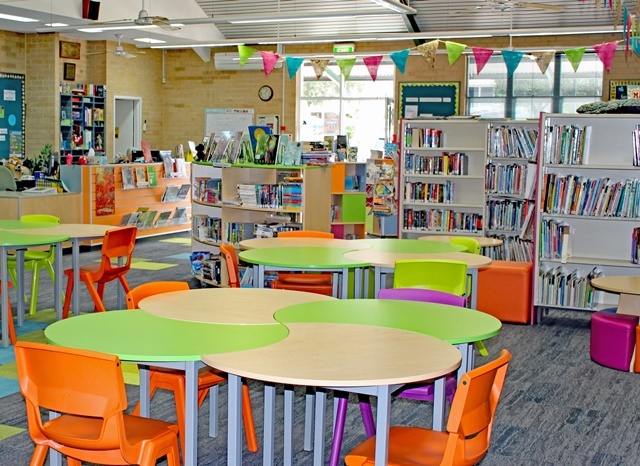 Library furniture 4 dva fabrications for Furniture 4 schools