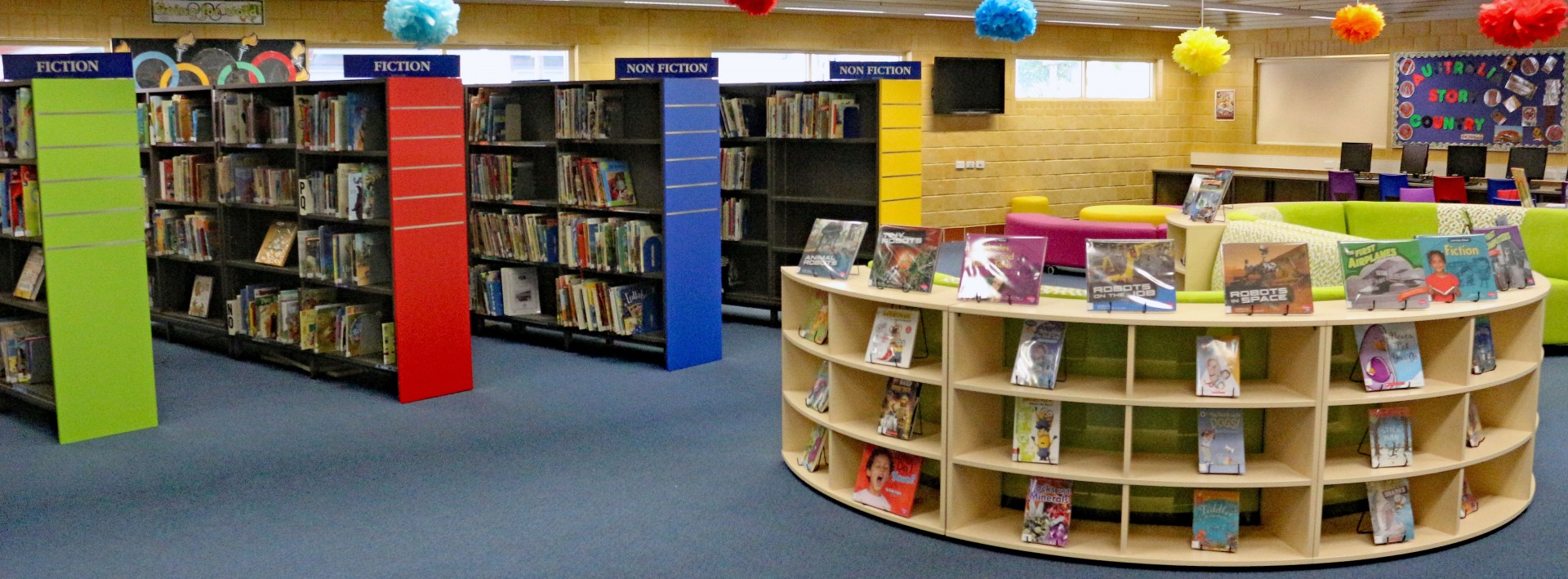 School Library Office Furniture Dva Fabrication Dva Fabrications