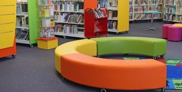 Library shelving 8