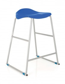 Tract stool blue