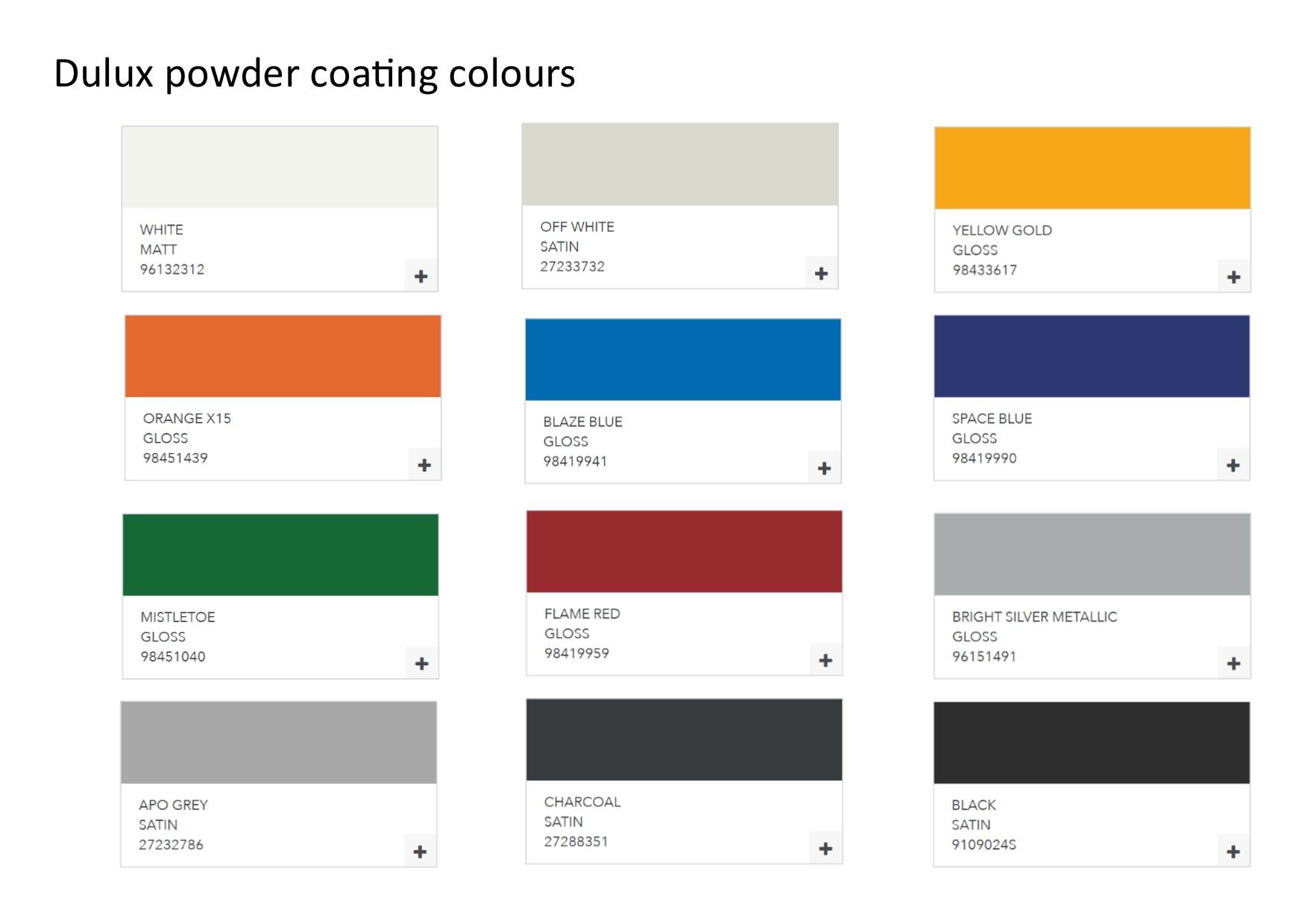 PC colours